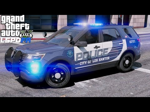 GTA 5 LSPDFR #676 City Police On Patrol While It Is Snowing thumbnail