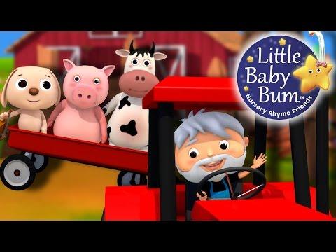 Farmer in the Dell | Nursery Rhymes by LittleBabyBum!