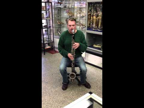 Selmer 67 Bass Clarinet on consignment at Massullo Music