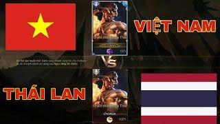 LIÊN QUÂN : Kèo Solo Raz Cực Căng Giữa Việt Nam và Thái Lan - Ai Mới Là Nhà Vô Địch ?