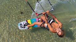 Paula Novotna, Elvis Jose Almeida Nunes Kiteboarding Kitesurfing in Maui, Hawaii