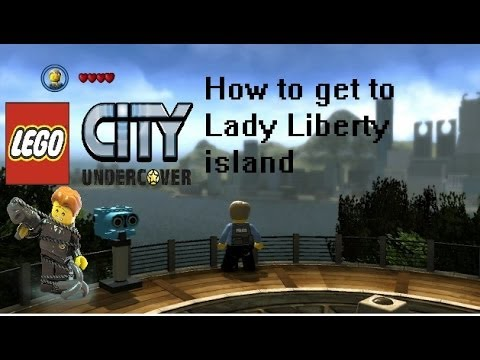 Lego City: Undercover - How to get to Lady Liberty Island