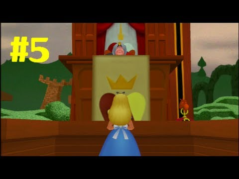 "Kingdom Hearts HD 1.5 Final Mix Gameplay Walkthrough - Part 5: ""Alice In Wonderland"""