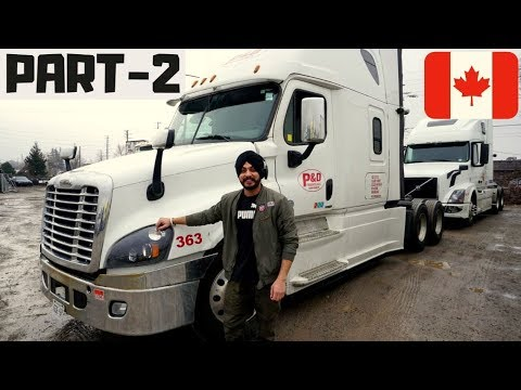Truck Driver in Canada Salary Job Punjabi