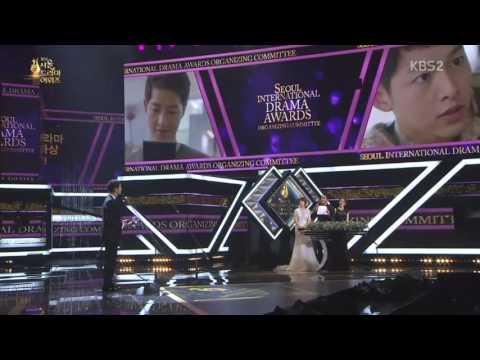 [มีซับไทย] Song Joong Ki Winning Oustanding Korean Actor Award @ Seoul International Drama Awards