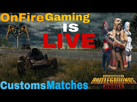 onfire-daily-customs🔥🔥-||-map:-vikendi-&-sanhok-||-pubg-mobile-indian-version-soon-in-play-store🔥🔥