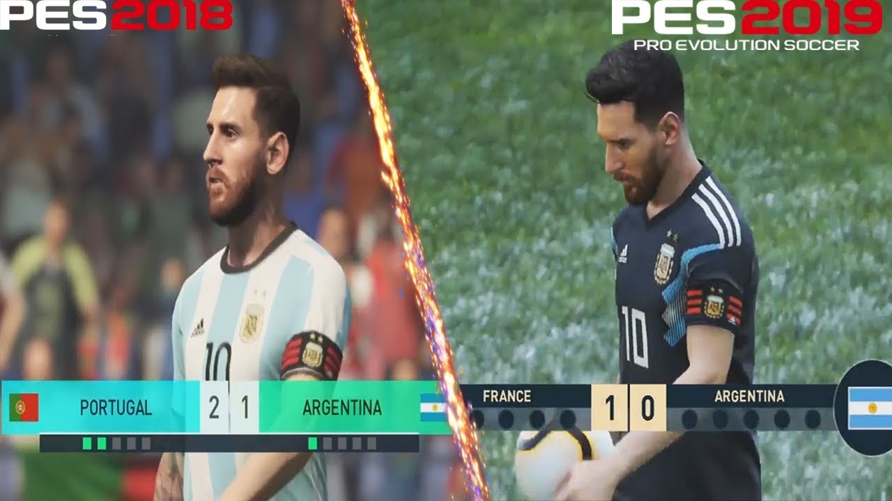 PES 2019 Vs PES 2018 || Penalty Shootout