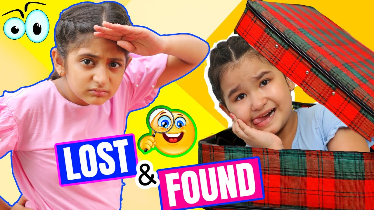 Kids Pretend To Play LOST & FOUND with Lickables | Toystars