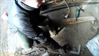 Самодельная 4 рядная сеялка к мотоблоку прицепное