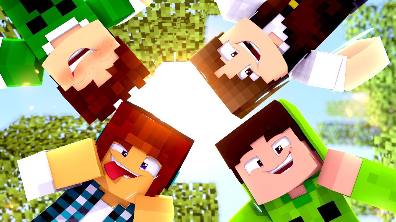 Minecraft : QUANDO A FAMILIA CRAFT SE JUNTA ISSO ACONTECE