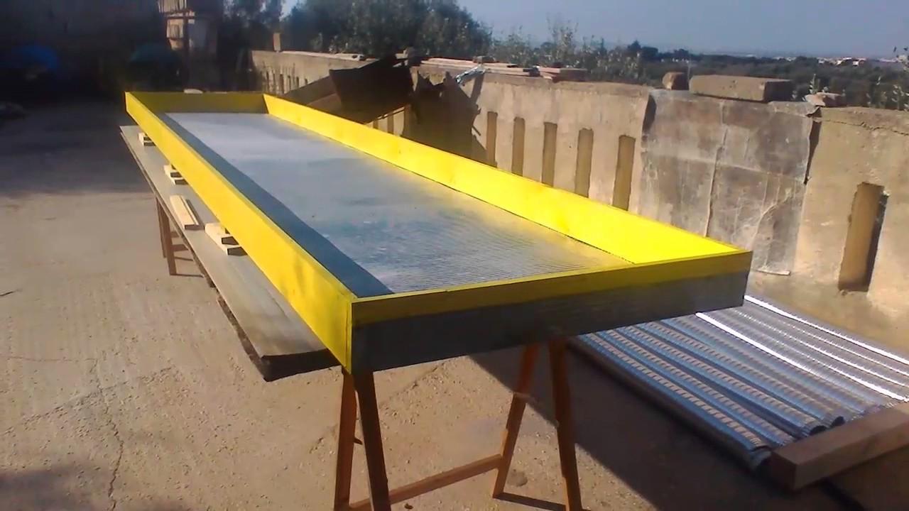 Pannello Solare Aria Ho : Pannello solare ad aria fase youtube