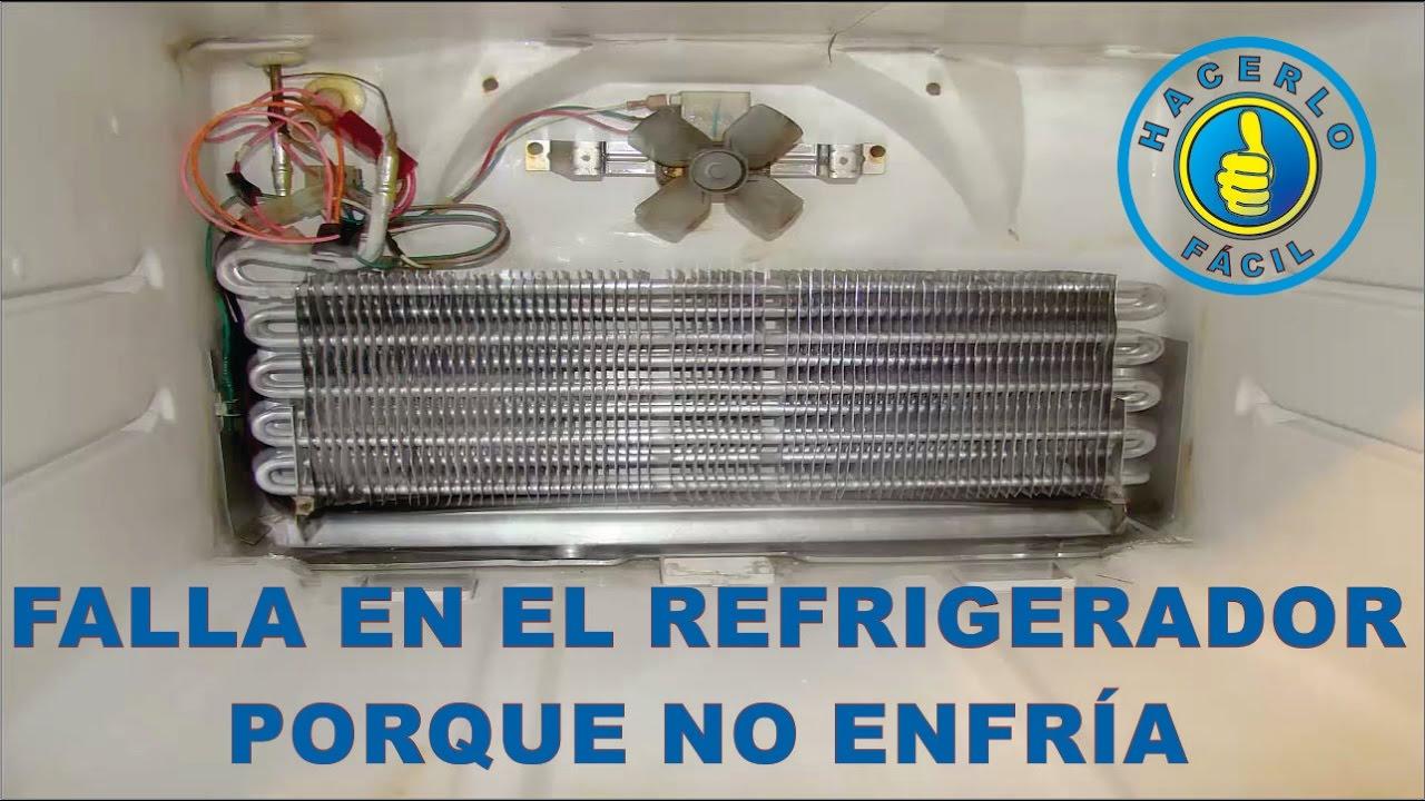 porque no congela mi refrigerador