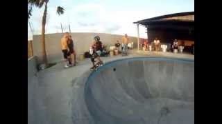 Skateboarding Pretty Poison Bali -Ben Benson