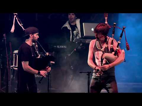 The SIDH ft. Ross Ainslie - Shake That Bagpipe - LIVE in MONTELAGO 2017