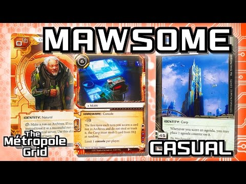 Android: Netrunner // Mawsome Omar Vs. Titan - Casual