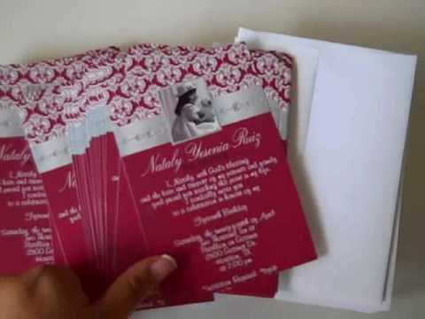 Red Quinceanera Invitations Best Printable Invitation Design Ideas