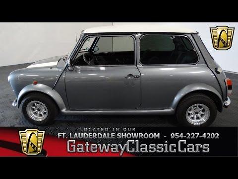 262 Ftl 1989 Austin Rover Mini Xl2s10 Youtube