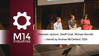 Video Panel - Charreah Jackson, Geoff Cook & Michael Gennitti @M14 Dating Conference