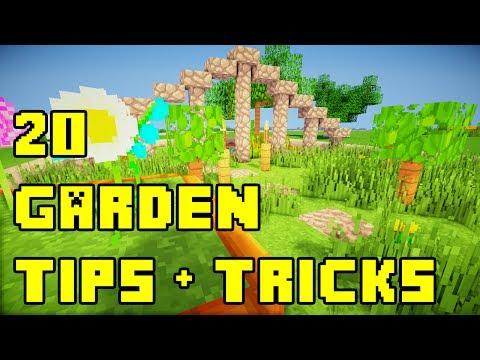 Minecraft 20 Backyard Garden Landscaping Ideas Tutorial Xbox PE