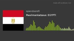 Maailmankatsaus: EGYPTI
