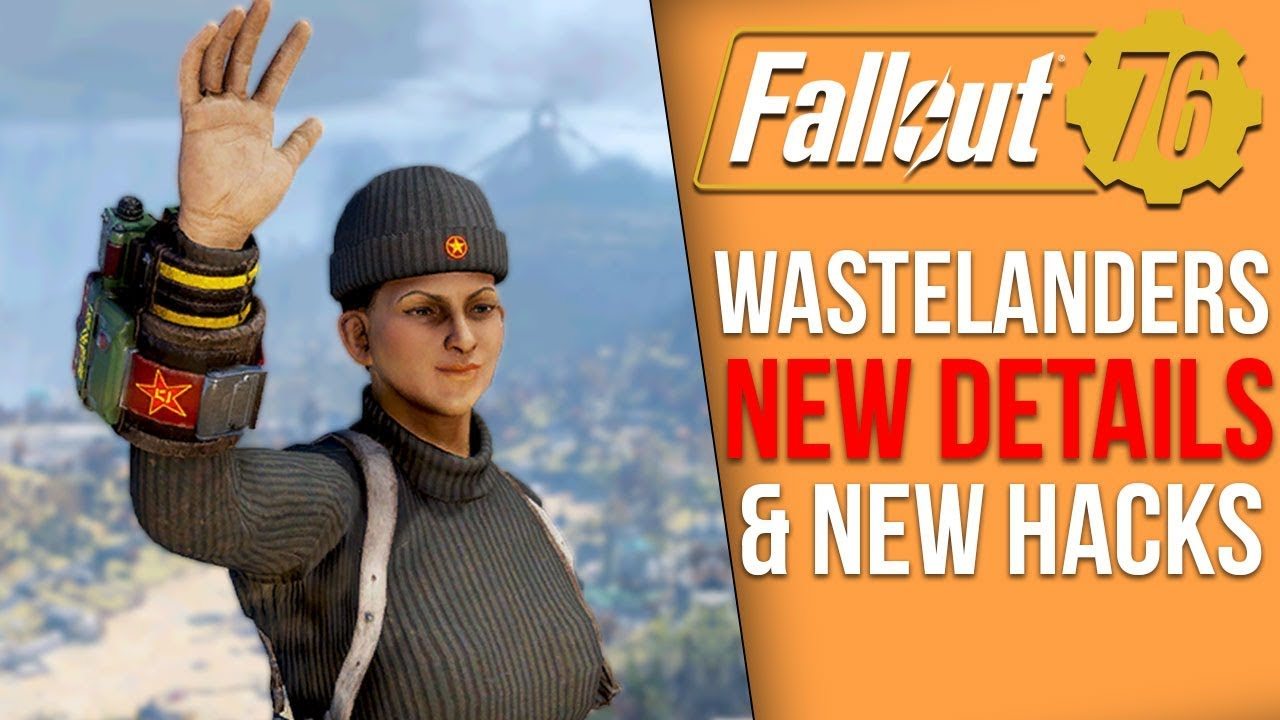 Fallout 76 News - New Wastelanders Images, Are More Hacks on the Way?, 2020 Roadmap thumbnail