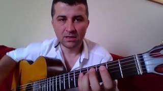 Gitar Dersleri Gitarda Gamlar   Re Major   II Pozisyon  II Diyezli