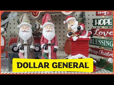 DOLLAR GENERAL CHRISTMAS DECORATIONS & GIFT SET'S SHOP WITH ME 2020