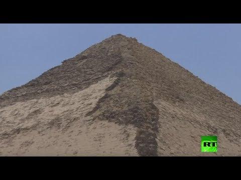 روسيا اليوم:مصر.. افتتاح هرمين أثريين أمام الزوار لأول مرة منذ عقود