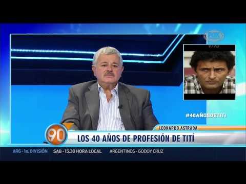 90 Minutos De Futbol | #40anosdetiti | 31 De Julio 2015