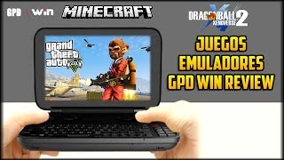 LA LAPTOP MAS PEQUEÑA DEL MUNDO - GPD WIN - CONSOLA PORTATIL CON WINDOWS! JUEGOS Y REVIEW