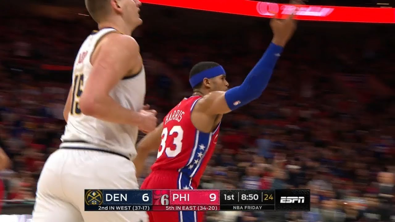 Download Tobias Harris's First Bucket as a 76er - Nuggets vs 76ers   Februray 8, 2019   2018-19 NBA Season