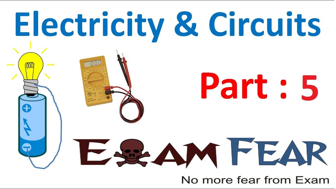 Physics Electricity Circuit Part 5 Examples Of Conductors
