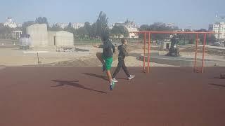 18-09-20 Спорт-комплекс в Екатериненском парке( урок в школе)