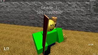 CHIPMUNK VS EVIL BALIDS SCHOOL * temos de escapar * em ROBLOX (Baldi ' s Basics Roblox) vídeo engraçado ROBLOX