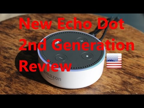 alexa echo dot 2 review amazon all new second generation. Black Bedroom Furniture Sets. Home Design Ideas