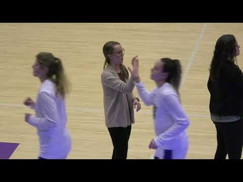 Stonehill College Women's Basketball 03/01/20 Playoff Vs. Assumption