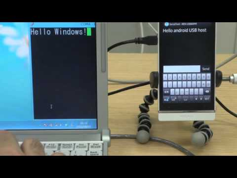 USB To Serial Converter With Stock Android In USB Host Mode
