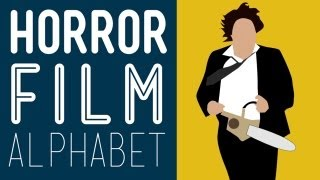 Horror Movies A-Z - Which Movies Do You Know? Horror Film Alphabet HD