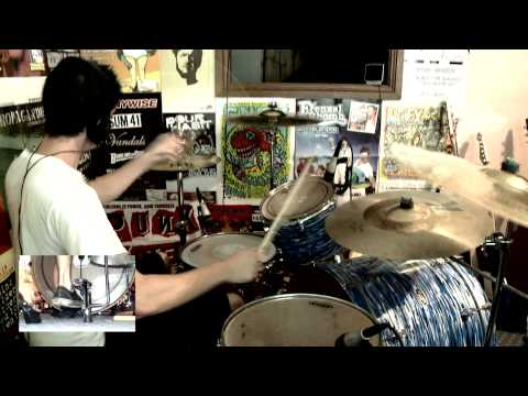 Green Day - Burnout (Drum Cover) [HD] - Kye Smith