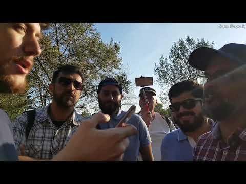 We are Muslim not Christian! Br Hashim Vs James Agnostic  Speaker's corner Hyde park