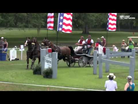 Chester Weber in the Live Oak Obstacles