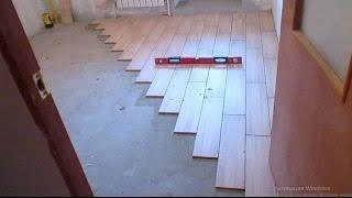 Укладка кафельной плитки 60 х 15 на пол в кухне (обзор)