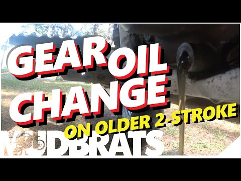 How to Change Transmission Gearbox Gear Oil 2 Stroke Dual Sport Dirt Bike | Yamaha DT200R