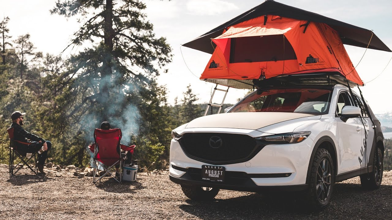 It's An Okanagan Thing - Rooftop Camping With The Mazda ...