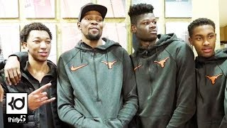 University of Texas / Kevin Durant Basketball Center Ceremony