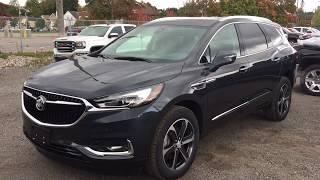 Dark Slate Metallic 2019 Buick Enclave AWD 4dr Premium Review Oshawa null - Mills Motors Buick GMC