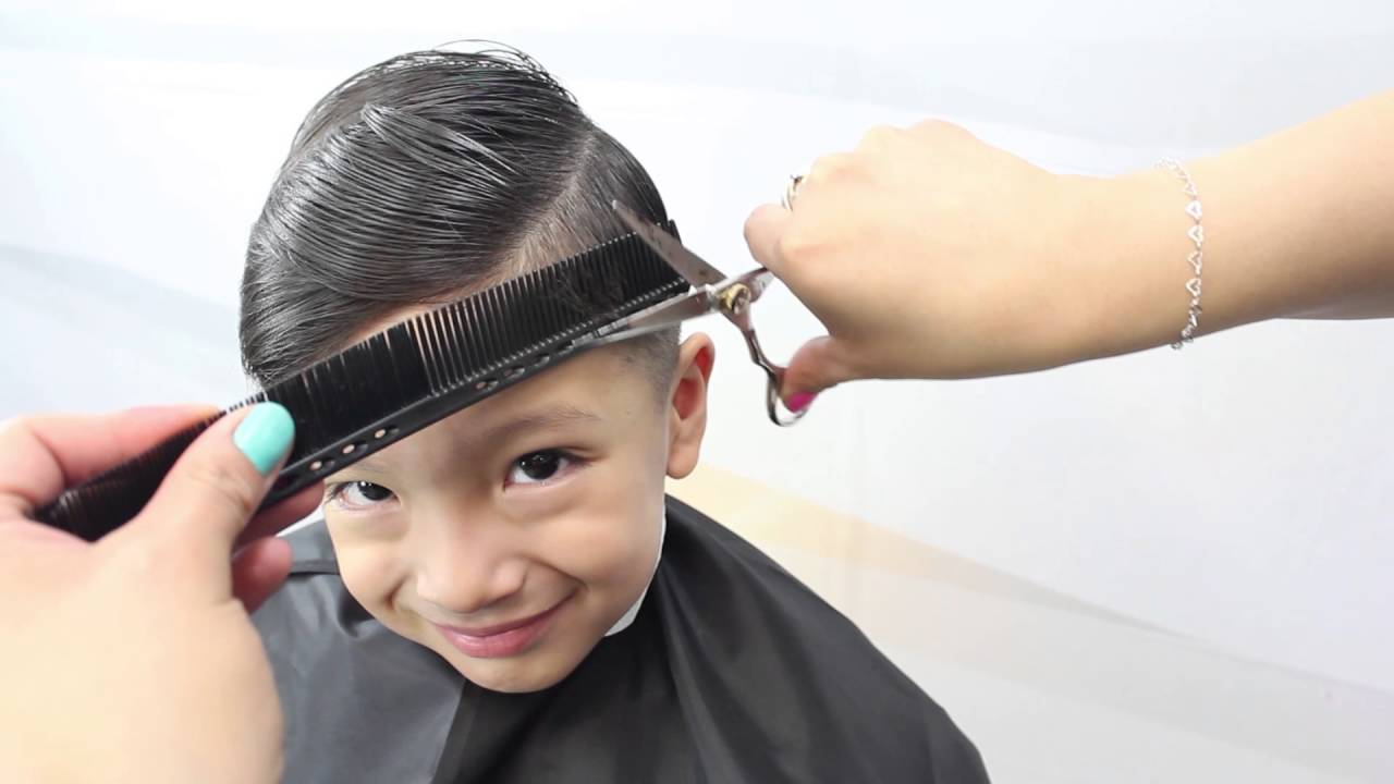 Tecnicas de corte de pelo para ninos