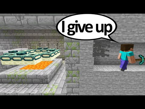 Minecrafts Unluckiest Moments OF ALL TIME #12