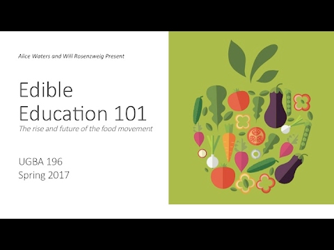 """Edible Education 101: Anna Lappé –""""The Global Food System: Feeding 9 Billion"""""""