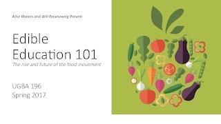 Edible Education 101: Anna Lappé –